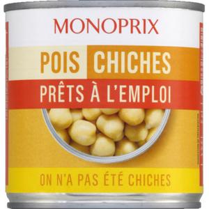Monoprix Pois Chiches 265g