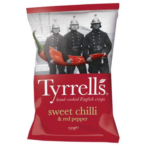 Tyrrells Chips Sweet Chilli & Red Pepper 150g