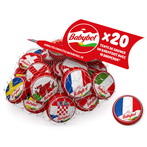 Babybel Fromage Mini 20 portions 440g