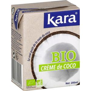 Kara Creme De Coco Bio 200ml