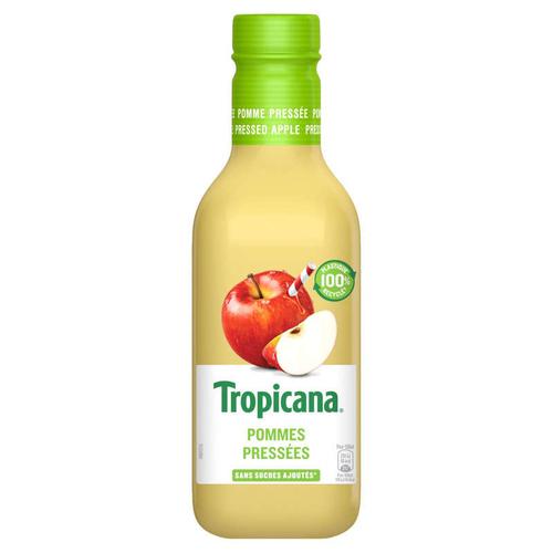 Tropicana Jus Frais de Pomme Pressée la Bouteille de 90cl