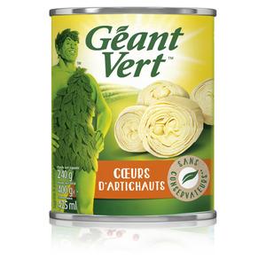 Géant Vert Cœurs d'Artichauts 240g