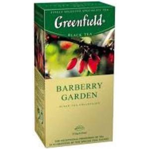 Greenfield Thé Noir au Berbéris Barberry Garden Sachet x25