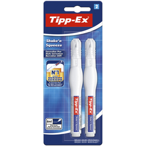 Tipp-Ex 2 Stylos Correcteurs - Shake'N Squeeze.