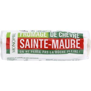 Monoprix Sainte Maure Fromage de chèvre 200g