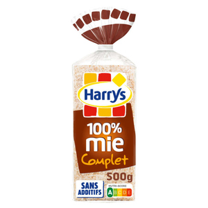 Harrys Pain 100% Mie Complet 500g