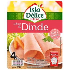 Isla Délice Delice de dinde halal 160g