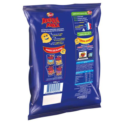 Monster Munch chips salés 135g