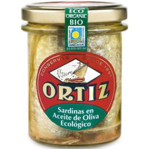[Par Naturalia] Ortiz Sardines À L'Huile D'Olive 140G Bio