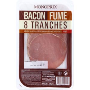 Monoprix Bacon Fumé 100g