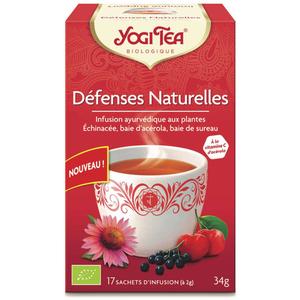 [Par Naturalia] Yogi Tea Infusion Défenses Naturelles - 17 Sachets Bio
