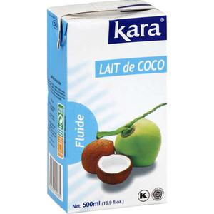 Kara Lait de Coco Fluide 50cl.