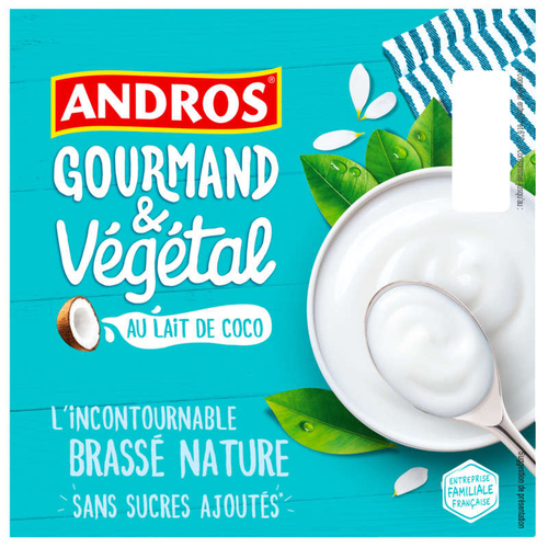 Andros Andros brasse coco nat 8x100g