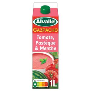 Alvalle soupe tomate, pastèque et menthe 1L