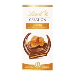 Lindt Creation Tablette Le caramel 150g