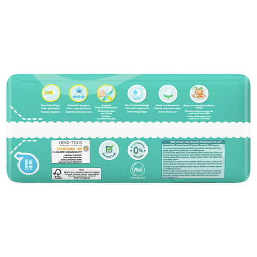 Pampers Baby Dry Geant T5X40