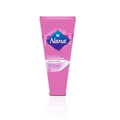Nana Protège-Lingerie Fraîcheur quotidienne String x30