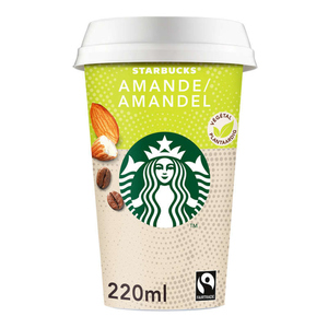 Starbucks végétale amande 220ml.