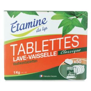 [Par Naturalia] Etamine Du Lys Tablettes Lave-Vaisselle X50 1Kg