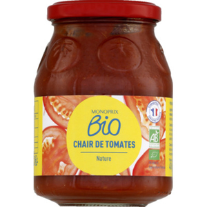 Monoprix Bio Chair de Tomates Nature 400g