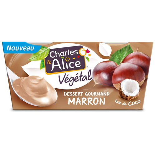 Charles & Alice C&a veg coco cr.marron 2x110g