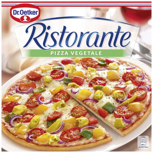 Dr.Oetker Ristorante pizza surgelée aux légumes 385g.