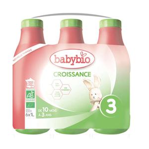 Babybio Lait Croissance dès 10 mois Bio 1l