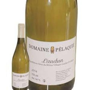 Select Jury Gourmet Cotes Du Rhone Villages Laudun Blanc  Domaine Pélaquié 75cl