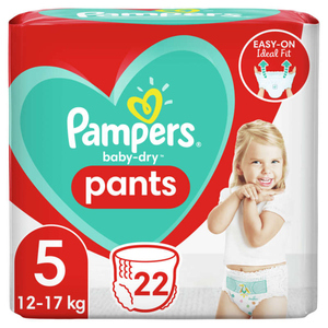 Pampers Baby Dry Pants Paquet T5X22