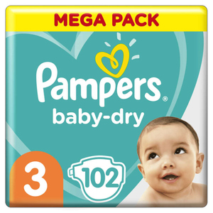 Pampers Baby Dry Mega T3X102