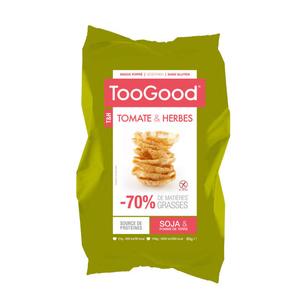 Toogood Snacks poppé Tomate et Herbes 85g.