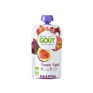 [Par Naturalia] Good Goût Gourde Pomme Figue Dès 4M 120g Bio