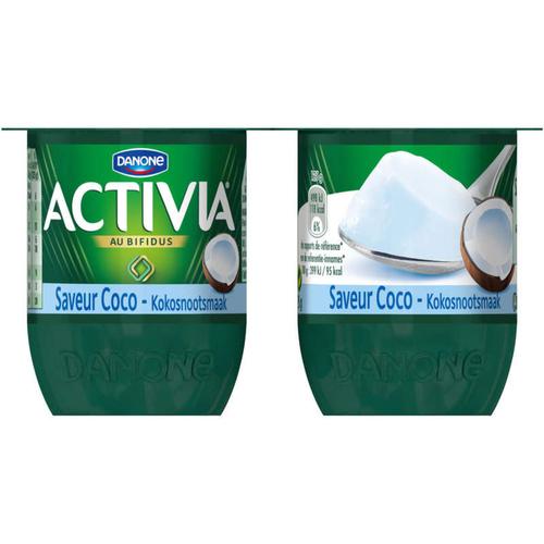 Activia Yaourt coco bifidus 4x125g