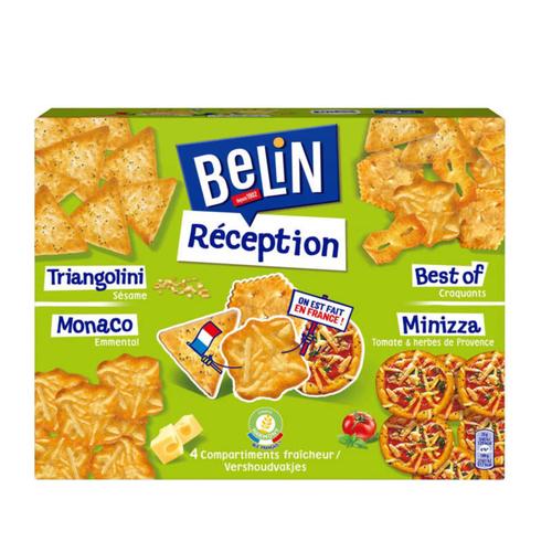Belin Crackers Assortiment Réception 380g