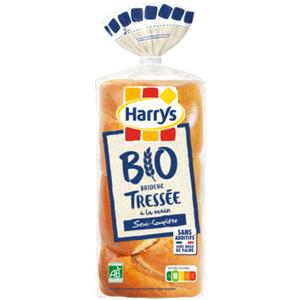 Harry's brioche tressée semi-complète bio 400g