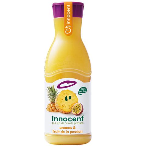 Innocent Jus Ananas et Fruit de la Passion 900ml