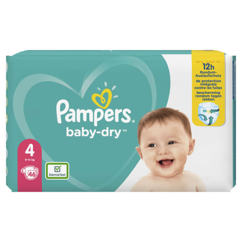 Pampers Baby Dry Geant T4X46