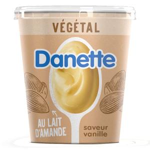 Danette Dessert végétal vanille base amande 400g