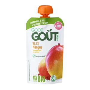 Good Goût Compote Bio Mangue Sans Gluten Dès 4 Mois 120g