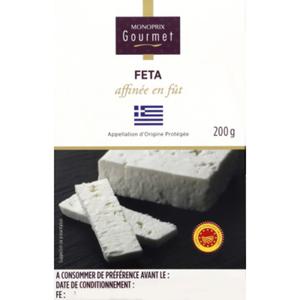 Monoprix Gourmet Feta Affinée en Fût 200g