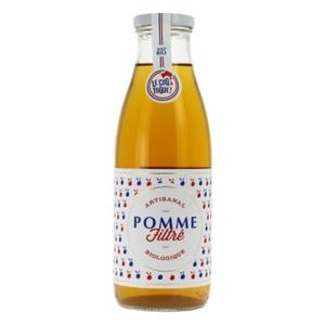 [Par Naturalia] Le Coq Toque Jus Pomme Filtre 75Cl Bio