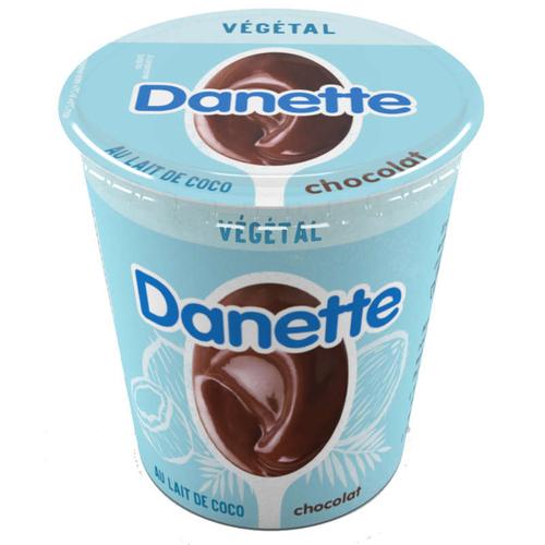 Danette Dessert végétal chocolat base coco 400g