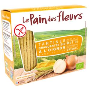 [Par Naturalia] Le Pain Des Fleurs Tartines Craquantes À L'Oignon Sans Gluten 150G Bio