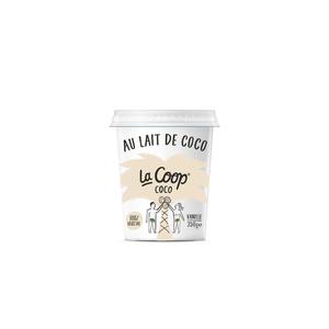 La Coop  coco vanille le pot de 350g