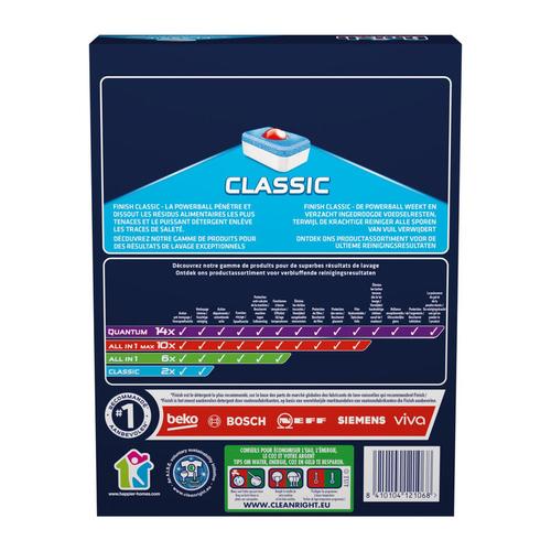Finish Powerball Classic x 60 Tablettes.