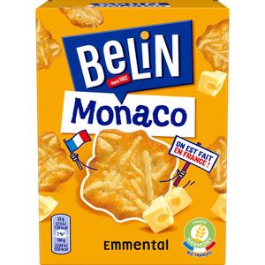 Belin Crackers monaco emmental 100g