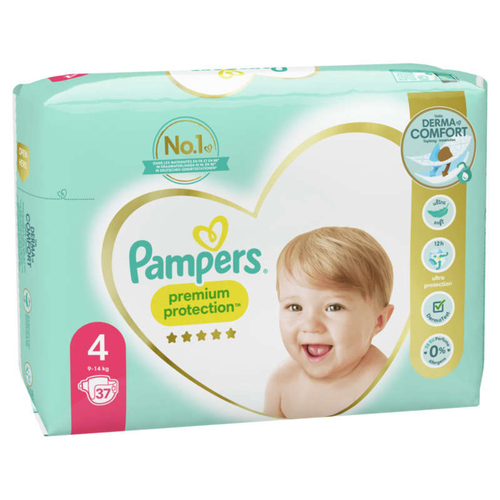 Pampers Premium Protection Geant T4X37