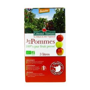 [Par Naturalia] Coteaux Nantais Jus De Pommes Demeter Bag In Box 3L Bio