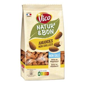 Vico Natur'&Bon Amandes non salées 200g