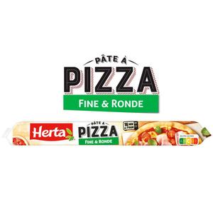Herta pâte à pizza fine et ronde